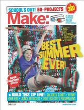 Make: School's Out! 50+ Projects [With 3-D Glasses] (Mixed Media Product)