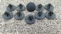 RANGE ROVER Trim Panel Push-In Rivet Bonnet Clips 10X