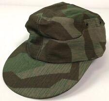WWII GERMAN SPLINTER CAMO M37 FIELD CAP-LARGE