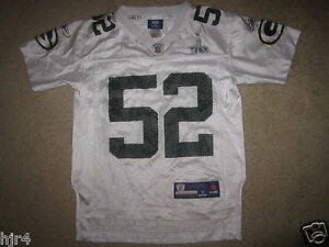 Clay Matthews #52 Green Bay Packers Super Bowl NFL Jersey Youth S 8 small