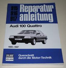 Reparaturanleitung Audi 100 Quattro C3 Typ 44, Baujahre ab 1985