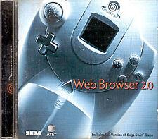 NEW PlanetWeb Web Browser 2.0 (Sega Dreamcast) with SegaNet SEALED