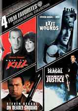 4 FILM FAVORITES STEVEN SEAGAL COLLECTION (DVD, 2011, 4-Disc Set) NEW