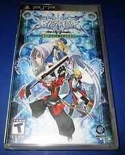 BlazBlue: Calamity Trigger Sony PSP - Factory Sealed!! Free Shipping!!