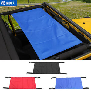 Car Roof Cover Car Top Cover Accessories for Jeep Wrangler 1997-2019 TJ JK JL