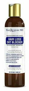"""Hair LOSS DHT BLOCKER SHAMPOO""""Sage & Lemongrass"""", Biotin Growth..."""