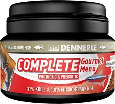 Dennerle Premium Fish Food: Complete Gourmet Menu 100ml for All Fish