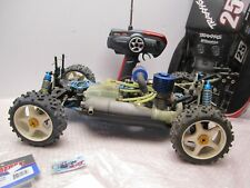 UNKNOWN RC CAR FC 35. NITRO ENGINE (LOW USAGE) WITH HITEC 2AM CONTROLLER ETC.