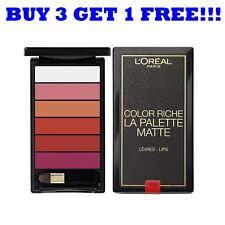L'Oreal Color Riche Matte Lip Palette 01 Bold Red