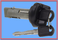 Replacement Ignition Lock Cylinder & Keys Replace GMC OEM # LS695C Black