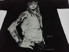 VTG AXL ROSE T SHIRT Guns N Roses Art Drawing by Bradford John Salamon 90s Slash