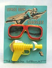 Vintage 1950's Space Gun and Goggles Mint on Card