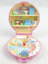 Vintage Polly Pocket Polly's Cafe Diner Pink Version 100% Complete