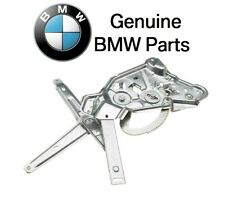 For BMW 5 Series Rear Driver Left Window Regulator Electric w/o Motor Genuine
