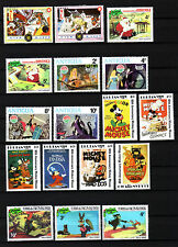 Disney - 80 different stamps MNH/MH