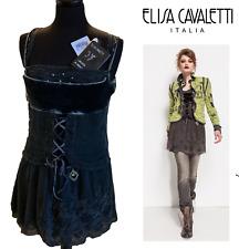 ELISA CAVALETTI BOTTEGA ITALIAN DESIGNER  *New/Tags* rrp $499  BLACK MINI DRESS