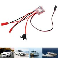 20A Bustophedon ESC Brushed Speed Controller For RC Car Truck Boat G2S7