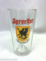 Sprecher Brewing Co. micro beer glass bar glasses 1 drink cocktail glassware HI2