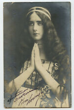 c 1903 Dancer Lovely CLEO De MERODE Dance Dancing photo postcard
