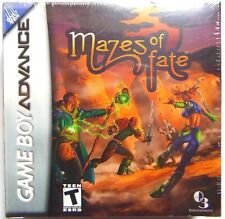 Mazes of Fate (Nintendo Game Boy Advance, 2006) NEW Factory Sealed Game