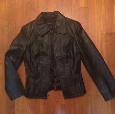Victoria's Secret Black Corset Leather Jacket XXS