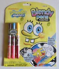 SpongeBob SquarePants Blendy Pens Poster Pack (New, Sealed)