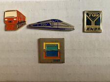 """Pins Pin's """"SNCF"""" les 4"""