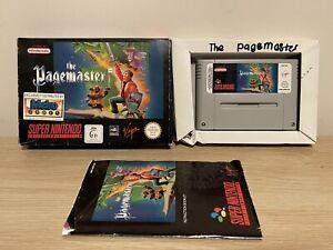 The Pagemaster SNES Super Nintendo Boxed Free post pal