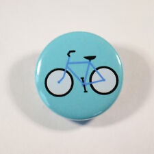 "BIKE CYCLING CYCLIST  Badge/Button GIFT with METAL PIN ( Size is 1"" / 25mm)"