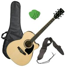 Ibanez PC15ECE Acoustic-Electric Guitar - Natural PERFORMER PAK