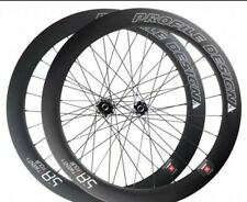 Perfiles Design 58/24 full carbon wheelset Disc Brake Clincher-Front & rear