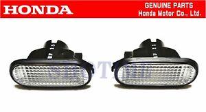 HONDA GENUINE INTEGRA DC2TYPE-R Front Fender Turn Marker Lamp Light Set OEM