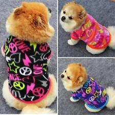 EG _ PETIT CHIOT ANIMAL hiver vêtements faux velours Pull chien chat chaud surp