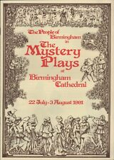 More details for people of birmingham cathedral 1991 'mystery plays'   c6.3085