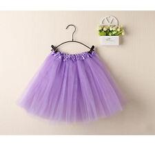 Women Tutu Dress Mini Skirts Dancewear Pettiskirt Princess Ballet Skirt