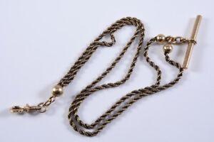 k36o28- 585er/ 14kt Gold Taschenuhr Kette