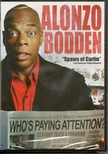 Alonzo Bodden: Who's Paying Attention? (DVD, 2011 Brand New NIB