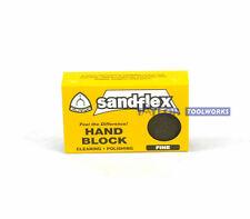 Sandflex Klingspore Fine Solid Carbide Rust Remover Sanding Sponge Eraser