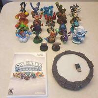 Skylanders Spyro's Adventure Game+Portal Of Power Wii 22 Figure WiiU Storage Bag