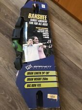 "Banshee Target Archery set armguard, finger tab 39""big  Bow feel 24-26""draw 25lb"