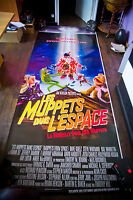MUPPETS IN SPACE 4x10 ft Double Bus Shelter Original Vintage Movie Poster 1999