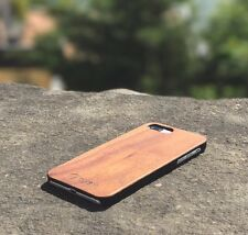 OXSY iPhone 7+ Walnut Real Wood iPhone Case Cover - 7 Plus Slim Case