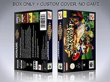 HOLY MAGIC CENTURY. PAL VERSION. Box/Case. Nintendo 64. BOX + COVER. (NO GAME).