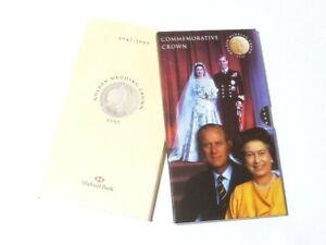 1997 Golden Wedding Crown £5 in Original Packaging Midland Bank BUNC