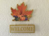 HANGING DECOR FRONT DOOR DECOR INTERIOR/EXTERIOR LEAVE & FRUITS