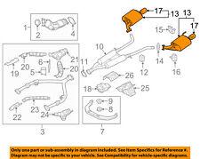 Infiniti NISSAN OEM 11-13 M56 5.6L-V8 Exhaust-Muffler Rubber Mount 206517W000