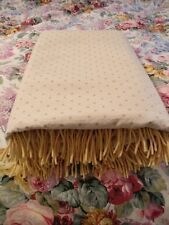 Polka Dot Lambswool Blanket Germany 78x52""