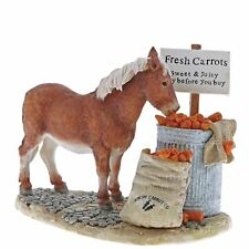 Kitchy and Co A29021 Crunchy Carrots Horse Pony Figurine