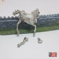 Easterling Kataphrakt Horse - Metal Lord of the Rings Warhammer Middle Earth