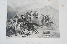 Druck Buchseite Napoleon The last Cart Raffet (N152)